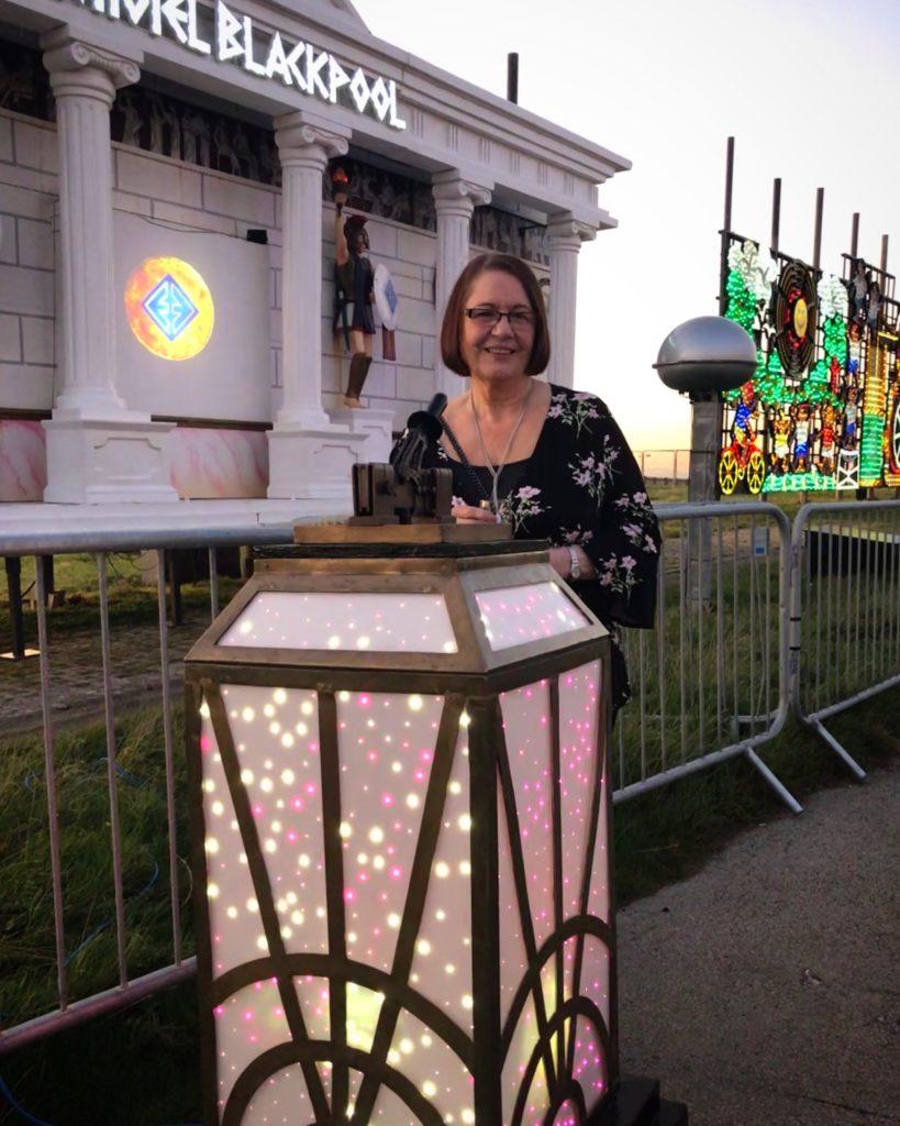 Blackpool Illuminations Switch On Elgin Hotel